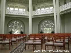 Baha'i House of Worship - interior