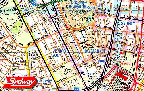 Ultimo & Haymarket Map