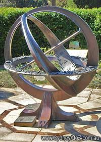 Solar Clock - Sydney Royal Botanical Garden