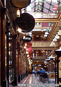The Strand Arcade - Ground Level